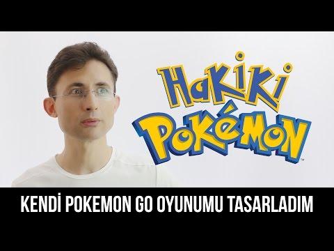 Kendi Pokemon Go Oyunumu Tasarladım: #hakikiPokemon