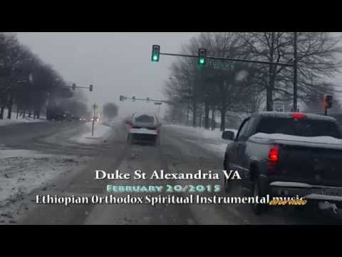 Snow Duke St Alexandria VA   February 20 2015 Ethiopian Spritual instrumental