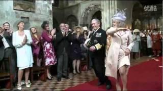 威廉王子皇室婚禮不為人知的入場片段 thumbnail