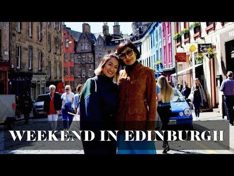 48 Hours in Edinburgh (ft Liz Uy again) | Laureen Uy