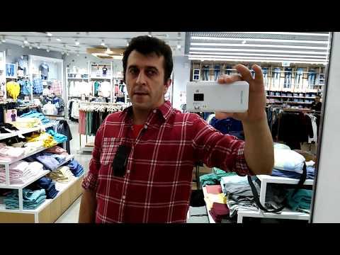 Рубашка. Красная мужская рубашка, с белыми линиями. Мягкая.