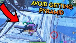 Fortnite: How To Avoid Getting Pyramid And Not Lose High Ground (Advanced Tutorial)