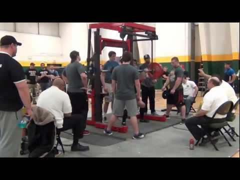 2013 APF/AAPF Illinois State Powerlifting Championships Raw Squats