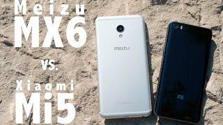 Xiaomi Mi5 vs. Meizu MX6 - Detailed view & Antutu comparison