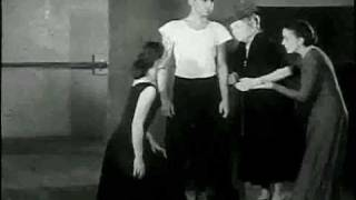 helen keller visits martha graham s dance studio