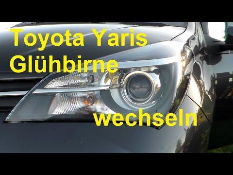 Spiegel Toyota Yaris : Toyota yaris blinkleuchte blinker wechseln ersetzen blinklicht