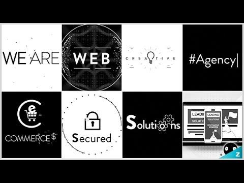 Digital Agency Stomp Jingle - WEB Service ( After Effects Project Files)