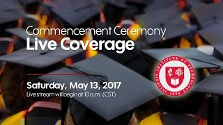 2017 Illinois Institute of Technology Commencement - Main Ceremony