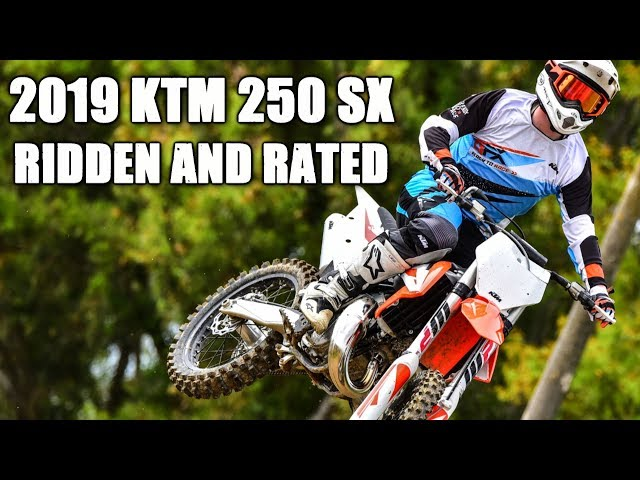 2019 KTM 250 SX 2 Stroke - Ridden and Rated