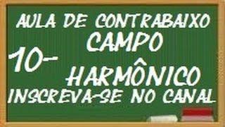 AULA DE CONTRABAIXO 10 (campo harmônico maior)