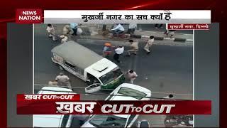 Mukherjee Nagar: New video shows tempo driver hits cop