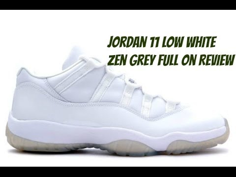 b479dad4e02 Air Jordan Retro 11 Low Exclusive Colorway Full On Review - YouTube