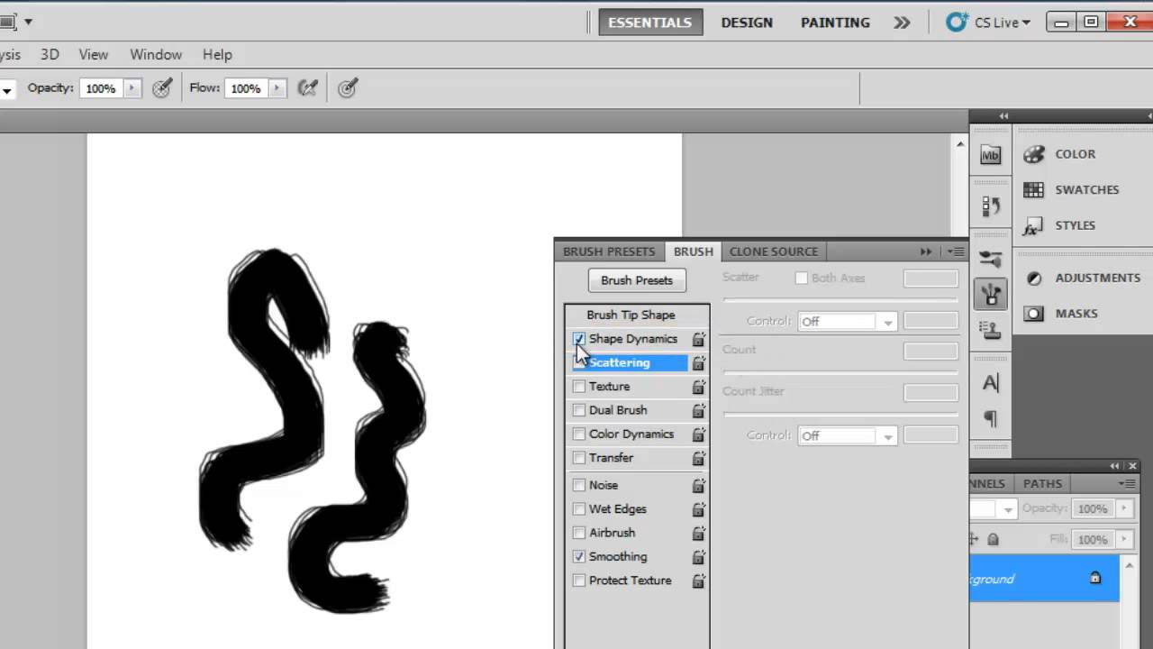 How to Do Spray Paint in Photoshop CS5