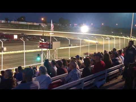 5/25/2018 Black Hills Speedway heat race (outside view)