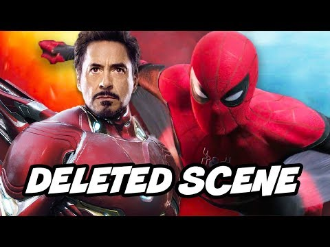 Avengers Endgame Iron Man - Infinity War Deleted Scene Easter Eggs Breakdown