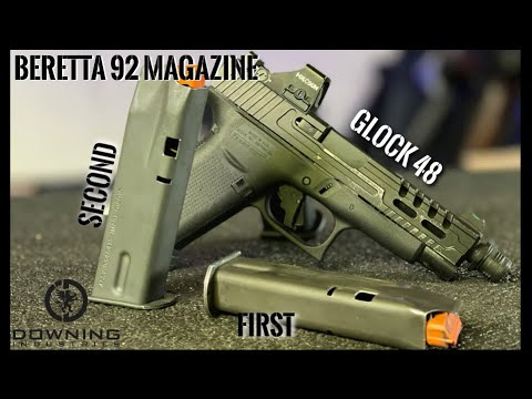 I Cut Another Beretta Mag For The Glock 48