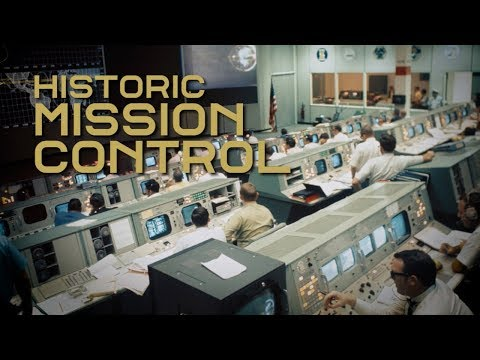NASA's restored Mission Control lets you relive the historic 1969 moon landing