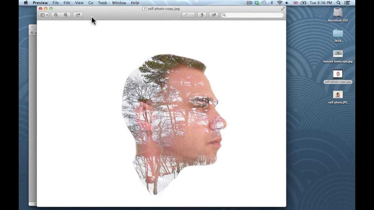 Double exposure tutorial for photoshop cs5 youtube baditri Choice Image