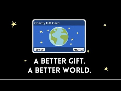 TisBest How Charity Gift Cards Work