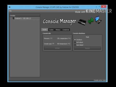 console manager 2.70