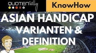 Asian Handicap bei Sportwetten: Die Definition und die unterschiedlichen Varianten