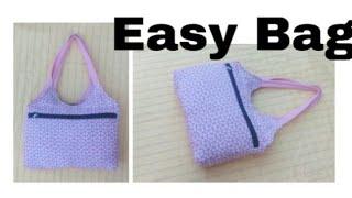 Designer bag/ Easy  Handmade bag ll Market bag  ll Bag banana #ShreeBhagwati