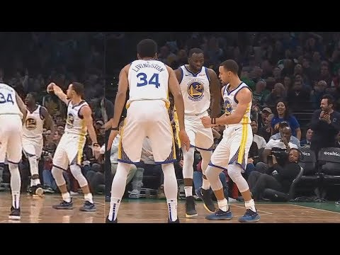 Stephen Curry Disrespects Celtics By Dancing Before Hitting The 3 Point Shot! Warriors vs Celtics