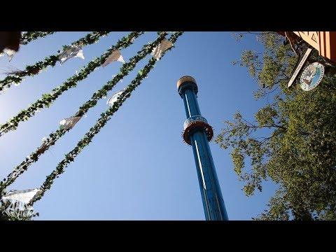 Mäch Tower - POV - Busch Gardens Williamsburg (Onride/Offride)