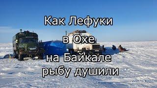 Как Лефуки в Охе на Байкале навагу с корюшкой душили