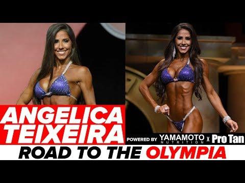 Angelica Teixeira Interview: The Next Ms. Bikini Olympia?