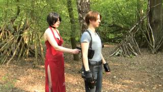 Resident Evil X - Leon Scenario A Part 1 (Cosplay Video)