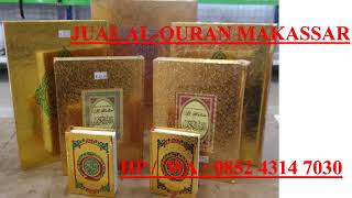Toko Al Quran Makassar HP WA 0852 4314 7030