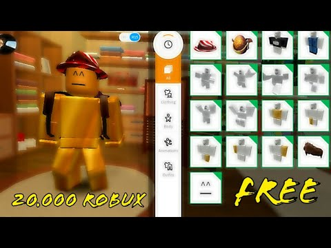 Roblox Free Account Giveaway 20 000 Robux Not Hacked Yet