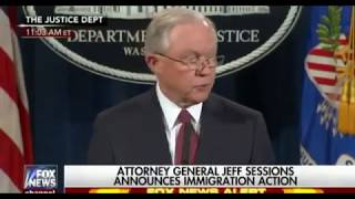 AG Jeff Sessions Announced the End of Obama's Unconstitutional DACA Free HD Video