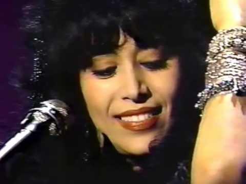 """Ofra Haza on Johnny Carson March 9, 1990 singing """"Ya Be Ye"""""""