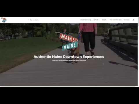 Main Street Maine: Experience Maine's Main Street Communities