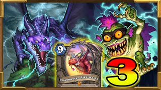 Hearthstone: Highlander Bandersmosh, Dragonqueen Alexstrasza, Quest Shaman Pt.3 | Descent of Dragons