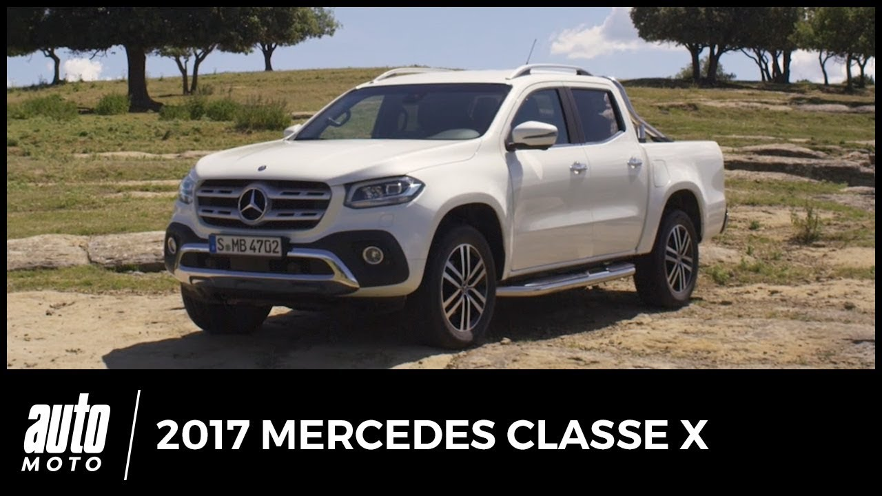2017 mercedes classe x premier essai c t passager offroad avis infos youtube. Black Bedroom Furniture Sets. Home Design Ideas