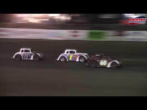 Dacotah Speedway INEX Legends A-Main (9/28/18)