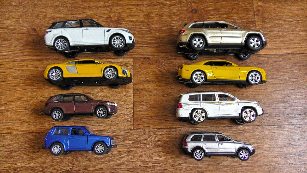 Bigger Size SUVs and Sports Cars Being Reviewed Model Cars Video