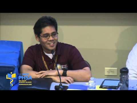 Student Panel: Secrets of a Pharmacy Student (2013)