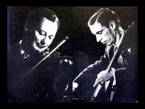 "Jean Fournier & Antonio Janigro ""Double Concerto"" Brahms"