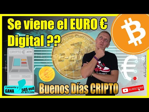 ¿Viene el Euro digital? BUENOS DIAS CRIPTO | Hoy | Ronny Roehrig