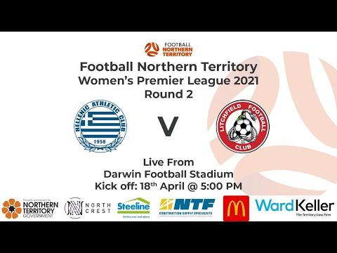 Women's Premier League 2021 : Rnd 2 - Hellenic AC Vs Litchfield FC