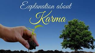Explanation about Karma
