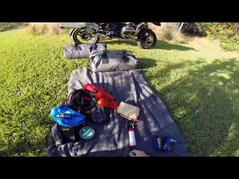 Motorcycle Packing/camping Adventure