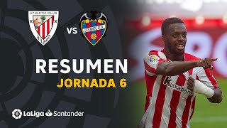Resumen de Athletic Club vs Levante UD (2-0)