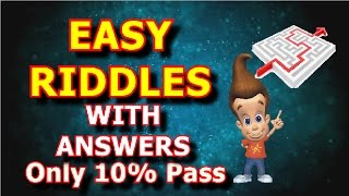 10 Easy Riddles with Answers