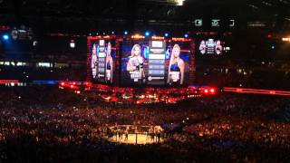 UFC 193 Rousey vs Holm - Walkouts & Ring Announcements