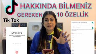 TİKTOK HAKKINDA BİLMENİZ GEREKEN 10 MADDE #tiktok